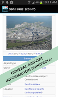 Screenshot of Cork Airport Pro