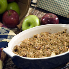 Harvest Apple-cranberry Crisp