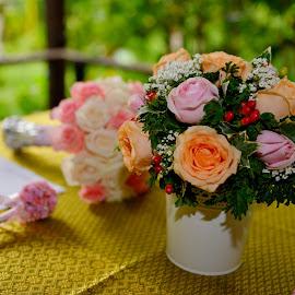 Bouquet Flower 3 by Cris Lhh - Wedding Other ( bouquet, wedding, outdoor, pink, flowers, flower )