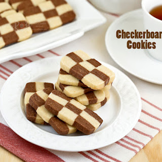 Chocolate Checkerboard Cookies Recipes