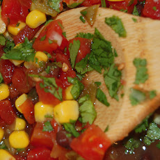 Black Bean and Corn Salsa (Low Fat)