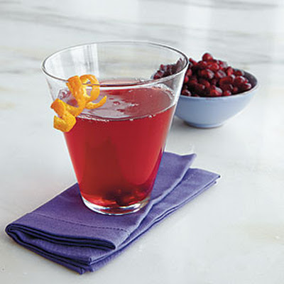 Pomegranate-Orange Martinis