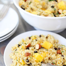 Quinoa Salad with Mango, Currants, Almonds, & Mint