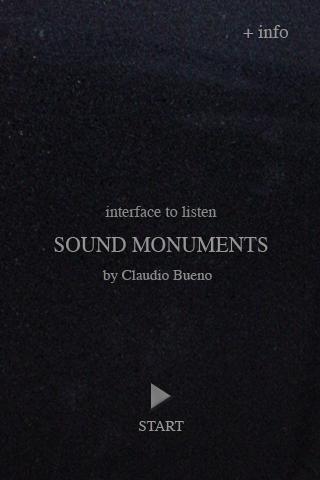 Sound Monuments