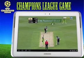 Screenshot of Champions League Cricket Game