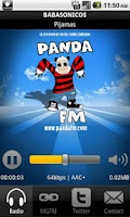 Screenshot of Panda FM