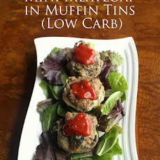 Low Carb Mini Meatloaf in Muffin Tins