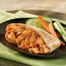 Barbecued Turkey Pockets