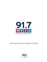 Screenshot of WVXU Public Radio App