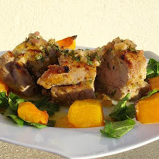 Grilled Pork Tenderloin a La Rodriguez With Guava Glaze...
