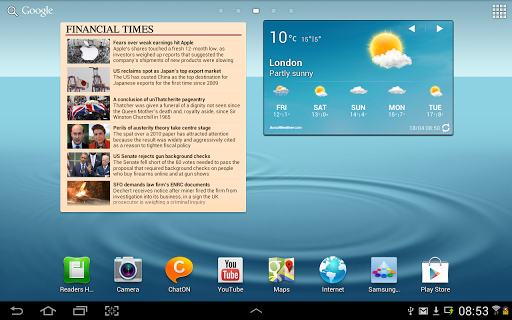 financial-times for android screenshot