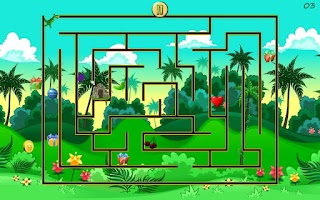 Screenshot of Dino Maze - Mazes for Kids