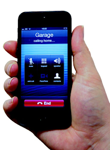 Phone Garage Remote
