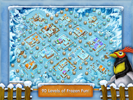 Screenshot of Farm Frenzy 3: Ice Domain