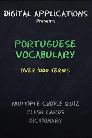 1000+ PORTUGUESE TERMS QUIZ