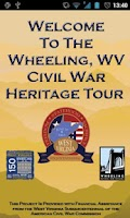 Screenshot of Wheeling Civil War Tour