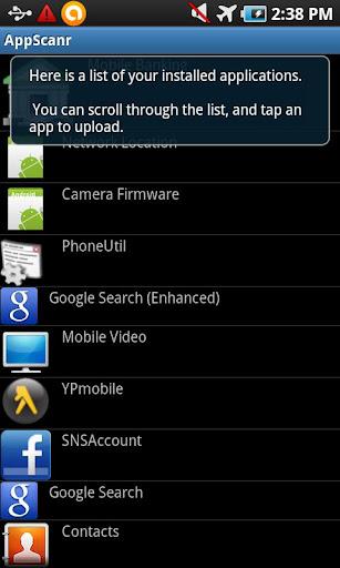 AppScanr