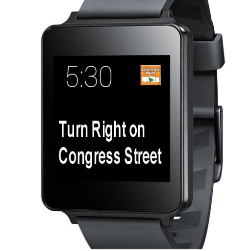 SmartTruckRoute Watch edition