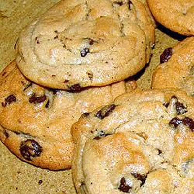 Chewy Toffee Chocolate Chip Cookies