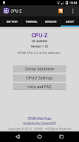 Screenshot of CPU-Z
