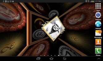 Screenshot of Shirdi Sai Baba 3D LWP