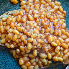 British-Style Beans on Toast