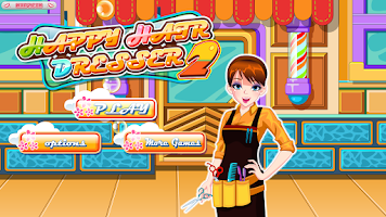 Screenshot of Happy Hairdresser – Free Game