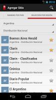 Screenshot of Neonews Argentina