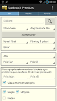 Screenshot of Blockdroid (Blocket-annonser)