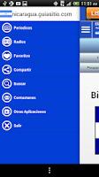 Screenshot of Nicaragua Guide News & Radios