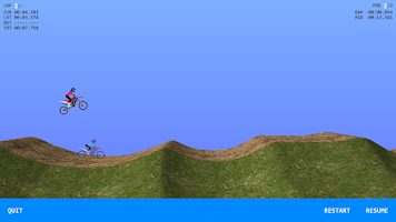 Screenshot of 2DMX Motocross