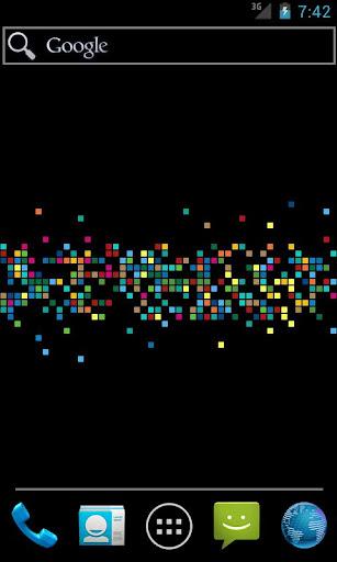 Pixel Mosaic Live Wallpaper
