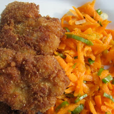 Sunday Supper: Fried Sweetbreads with Carrot Salad