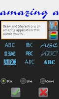 Screenshot of Draw and Share (painting app)