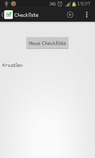 Checkliste - screenshot