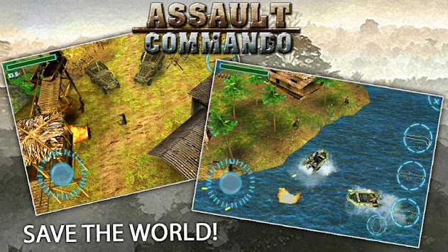 Assault Commando apk screenshot