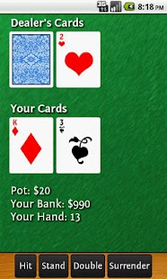21 or Bust Blackjack Pro - screenshot