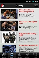 Screenshot of MMA Underground