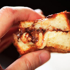 Brie and Nutella Grilled Cheese