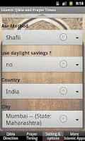Screenshot of Islamic Prayer Times & Qibla