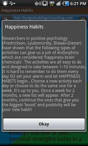 Happiness Habits