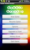 Screenshot of Classic Bubble Breaker(free)