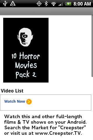 【免費娛樂App】10 Horror Movies Pack 2-APP點子