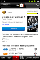 Screenshot of NaTV - Guia de TV e Cinemas