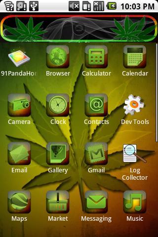 【免費個人化App】Weed Theme HD-APP點子