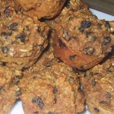 Molasses Raisin Muffins