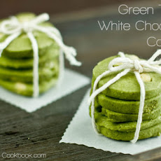 Green Tea & White Chocolate Cookies