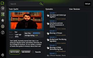 Screenshot of Islam Box for Google TV