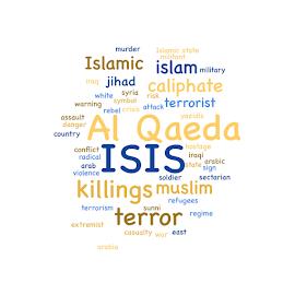 ISIS by Henrik Lehnerer - Typography Words ( muslim, caliphate, terrorism, terror, illustration, yellow, military, danger, militant, terrorist, assault, rebel, regime, syria, murder, jihad, symbol, extremist, white, islamic state, country, sign, refugees, islam, hostage, word, conflict, arabic, iraqi, graphic, arab, al qaeda, islamic, sunni, arabia, state, war, crisis, east, radical, violence, isis, yazidis, killings, iraq, sectarian, background, cloud, attack, warning )