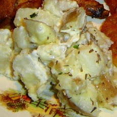 Garlic Thyme Potato Tapas